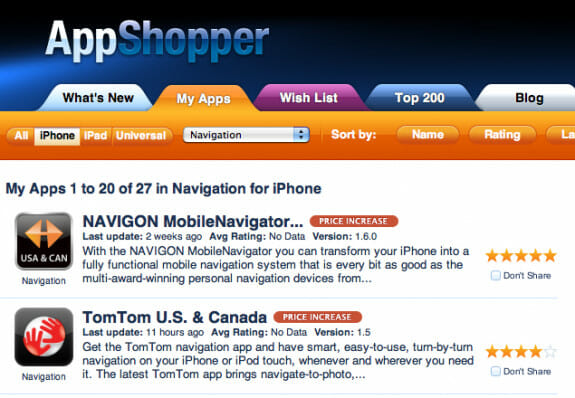 appshopper rating example