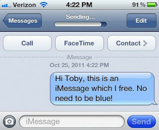 iMessage iOS 5 iPhone