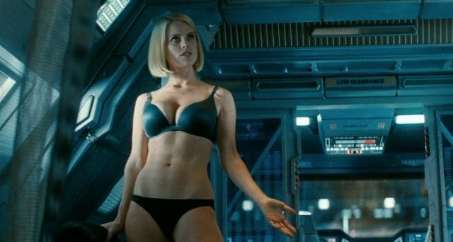 alice eve bra panties star trek into darkness