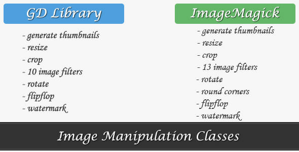 GD library vs ImageMagicK
