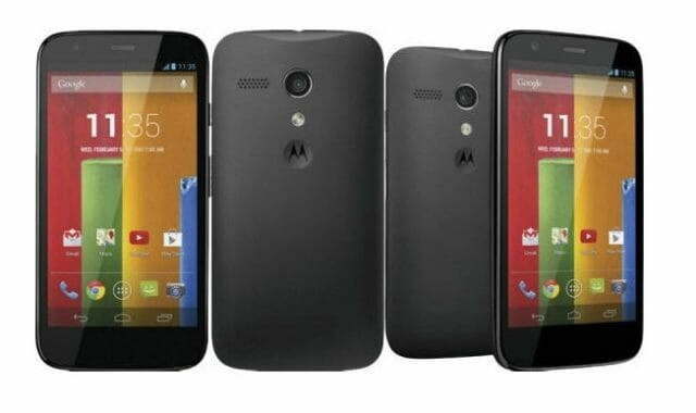 Moto G official photo