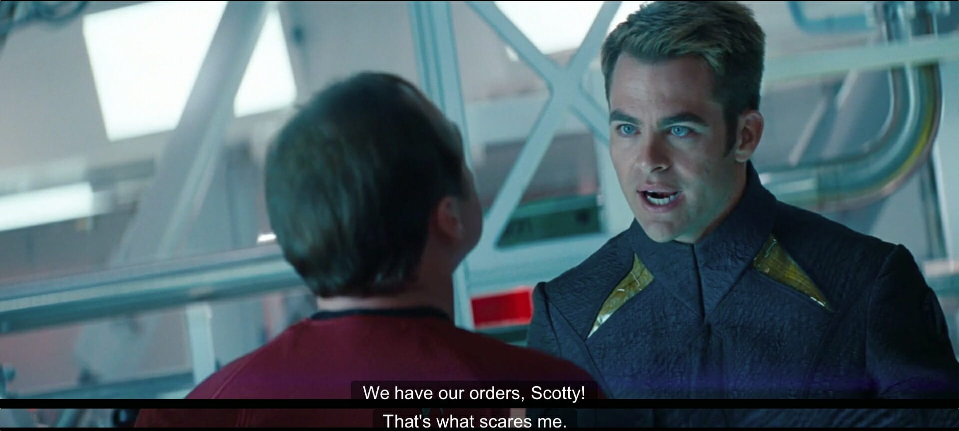 we have our orders scotty
