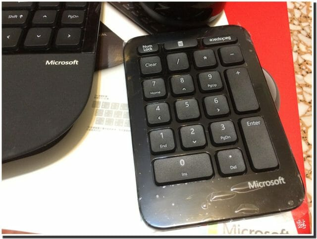 sculpt ergonomic number keypad