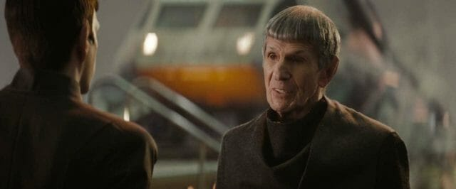 old Spock and new Spock