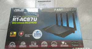 Asus RT-AC87U unboxing