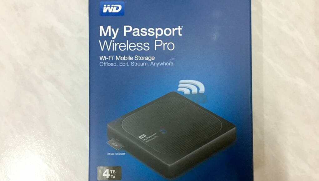 wd my passport wireless pro