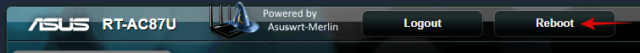 asus router upgrade merlin firmware