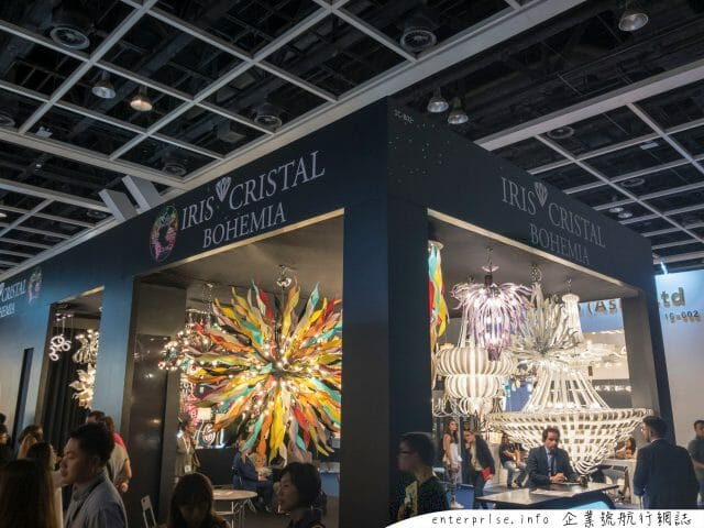lighting fair autumn 2018 iris crystal bohemia
